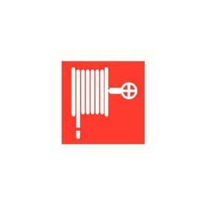 Pictogram Sticker Brandhaspel 100x100mm