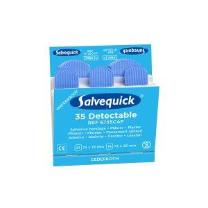 Salvequick Refill Detecteerbare Pleister Doos A 6 Stuks