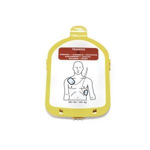 Heartstart Trainings Cassette Met 1 Set Electrodes
